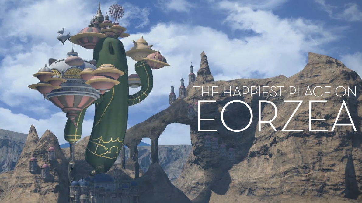 A Guided Tour Of Final Fantasy XIV's Golden Saucer