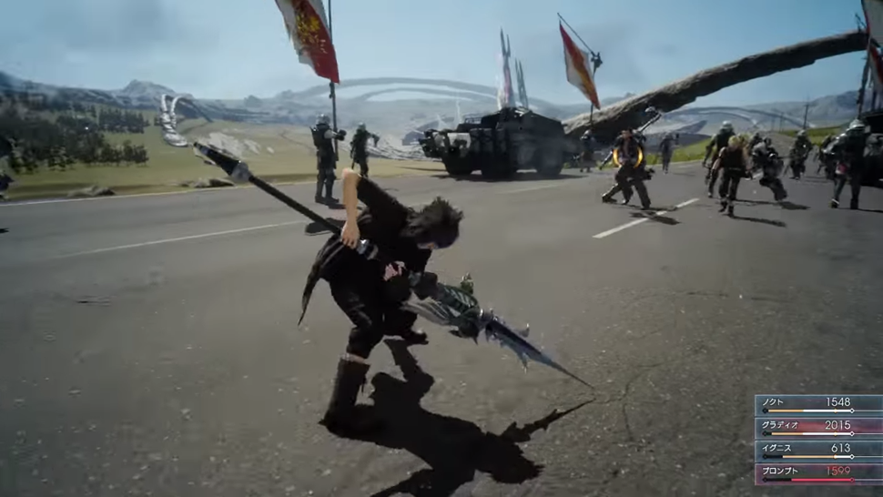 In Final Fantasy XV, Your MP Isn't For Magic