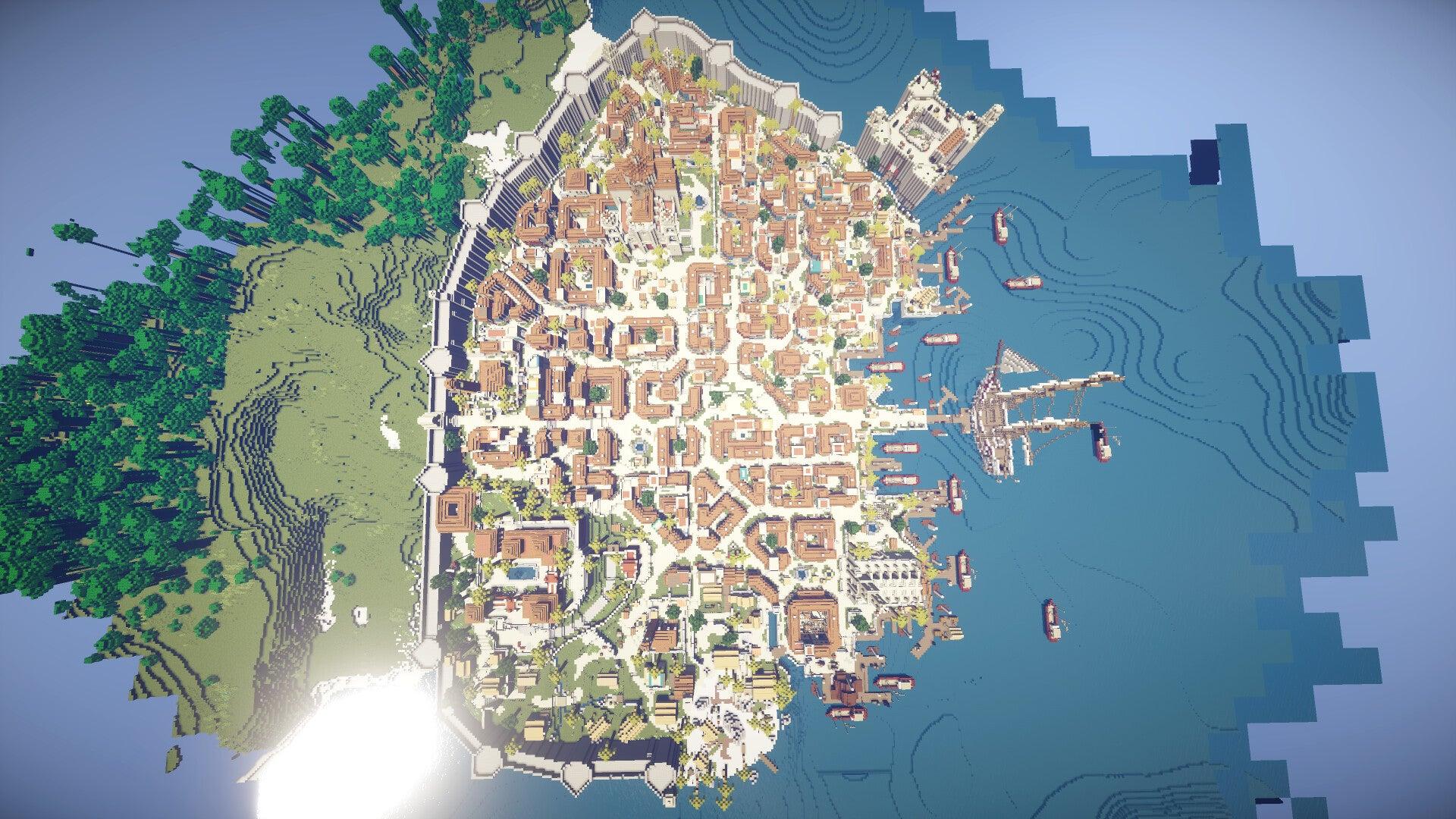 Скачать карту Ассасин для Майнкрафт