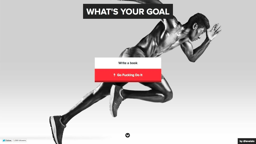 Go F**king Do It Tracks Your Goals, Charges You Real Money If You Fail