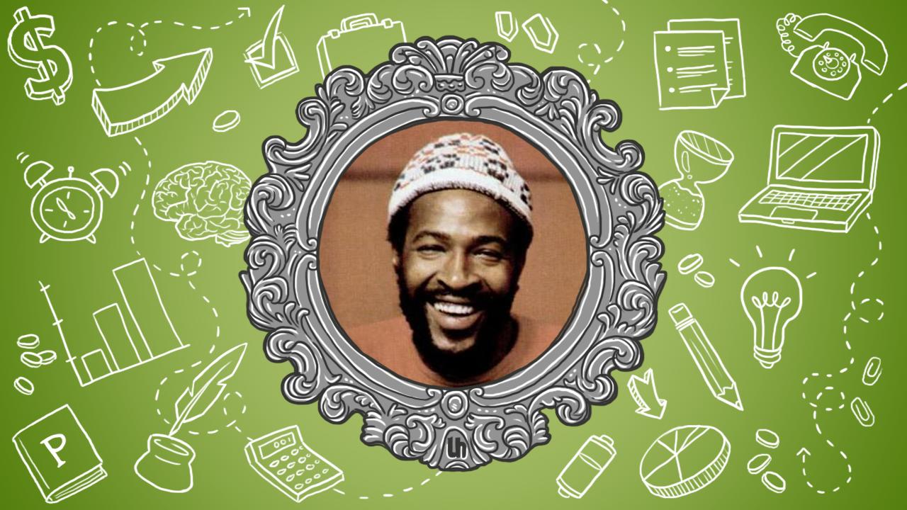 Marvin Gaye's Best Creativity Tips