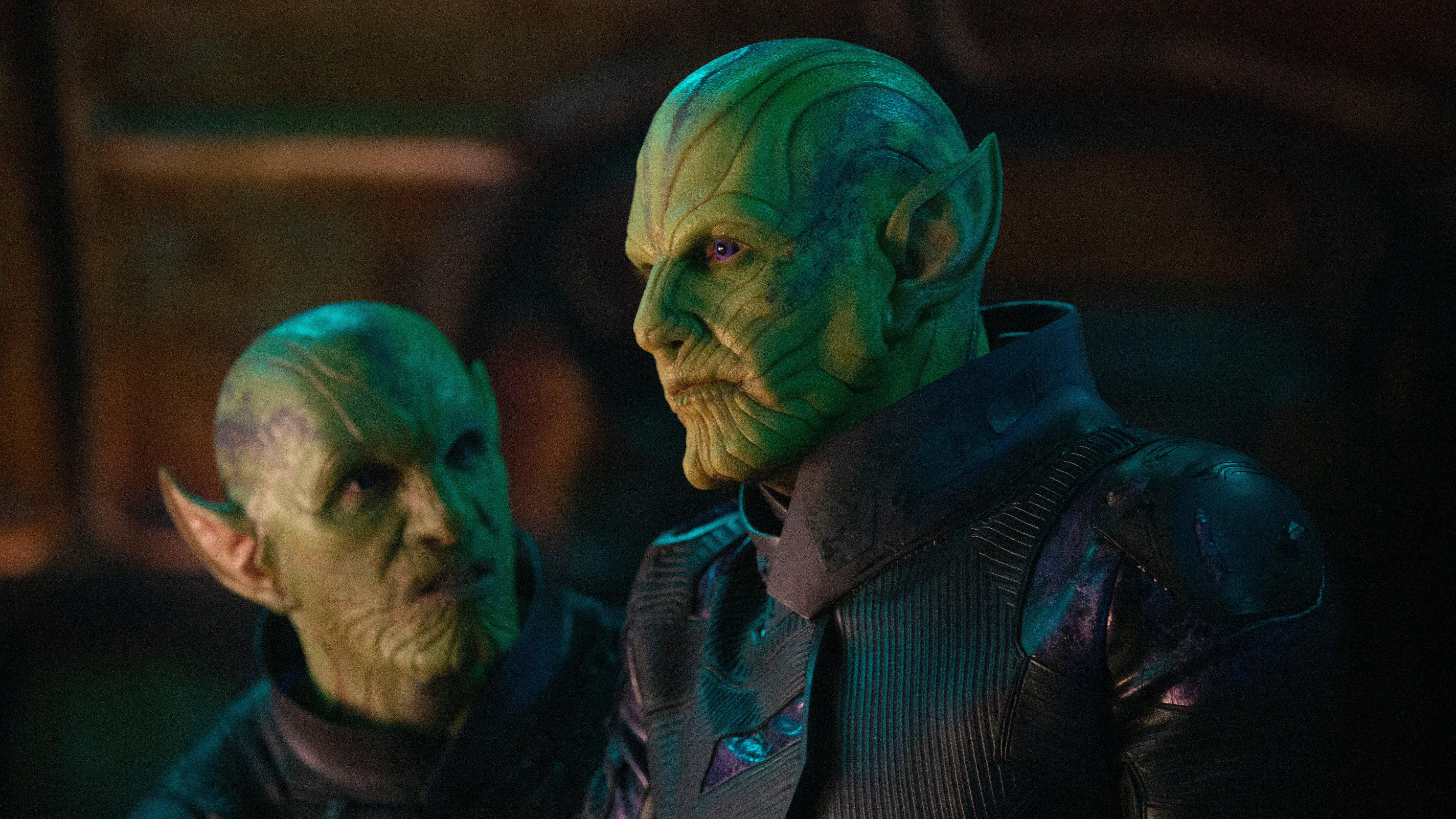 Captain Marvel's Cat Actors Had Trouble Performing With The Skrulls