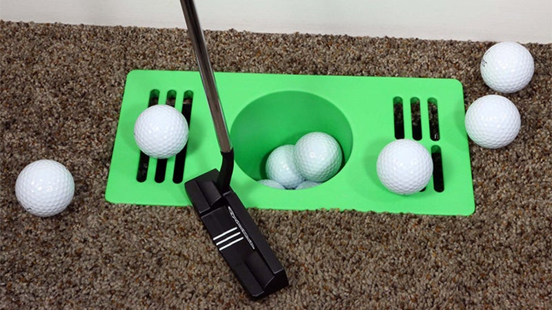 Turn Your Entire Home Into A Miniature Golf Course With These Putting Cup Air Vents