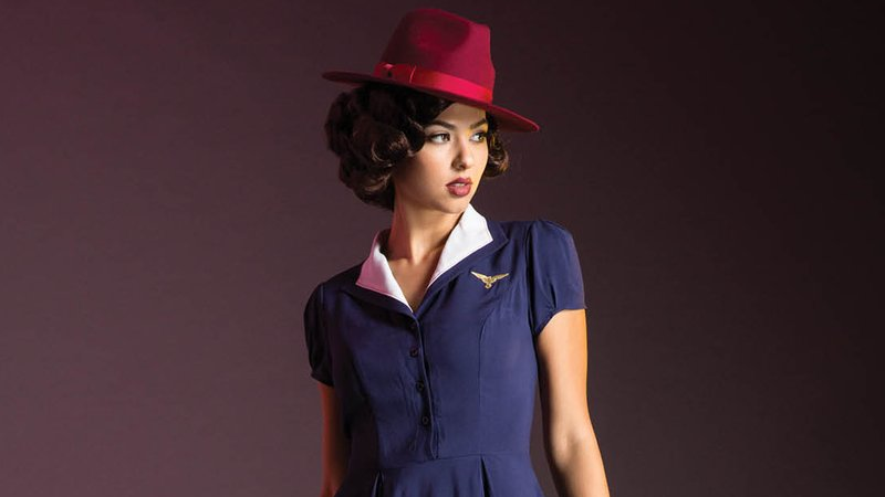 Oh My God, This Agent Carter Dress