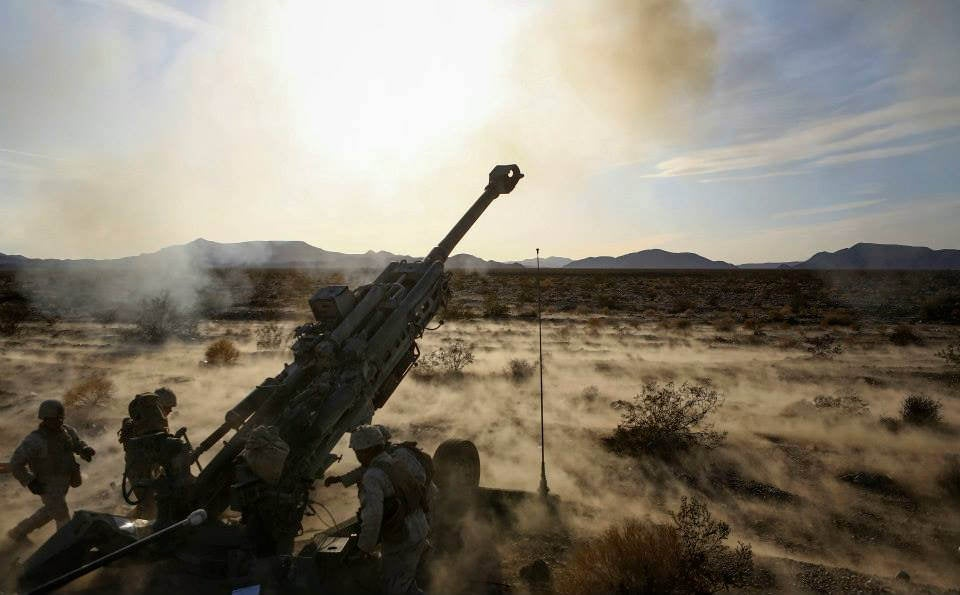 I Can Hear The Sound Of Artillery Firing In This Photo Of A Howitzer