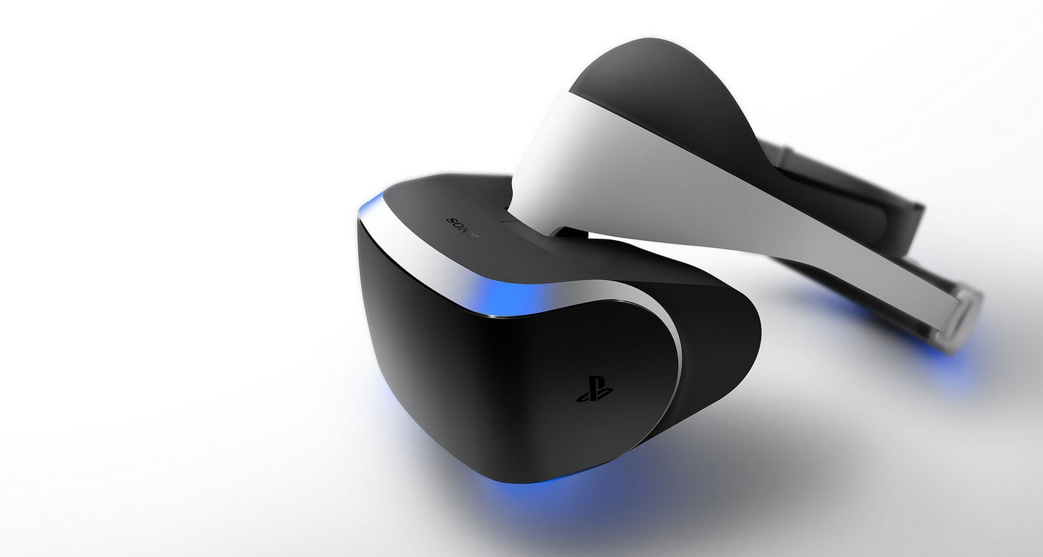 PS4 Gets A Virtual Reality Headset