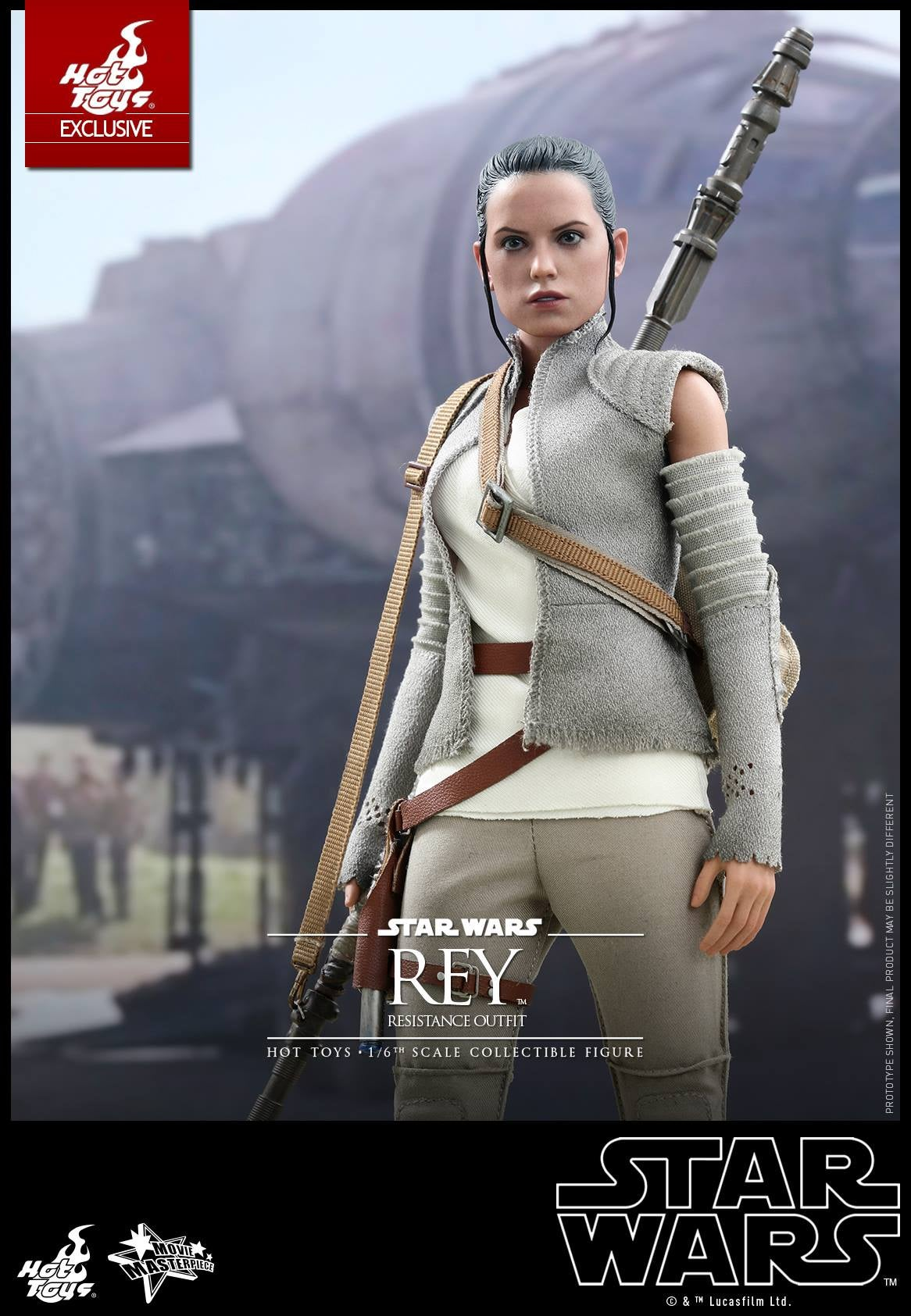 Hot Toys' New Rey Figure Is More Bewilderingly Perfect Than Usual