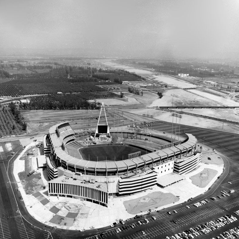 In 1966, the Angels Landed in Anaheim's Futuristic Baseball Stadium