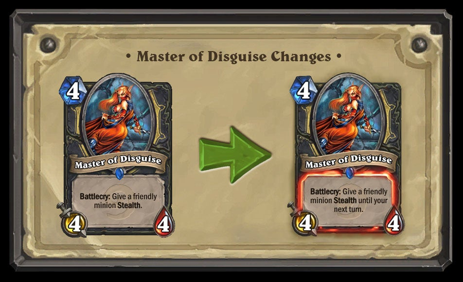 Blizzard Is Nerfing A Bunch Of Hearthstone Cards