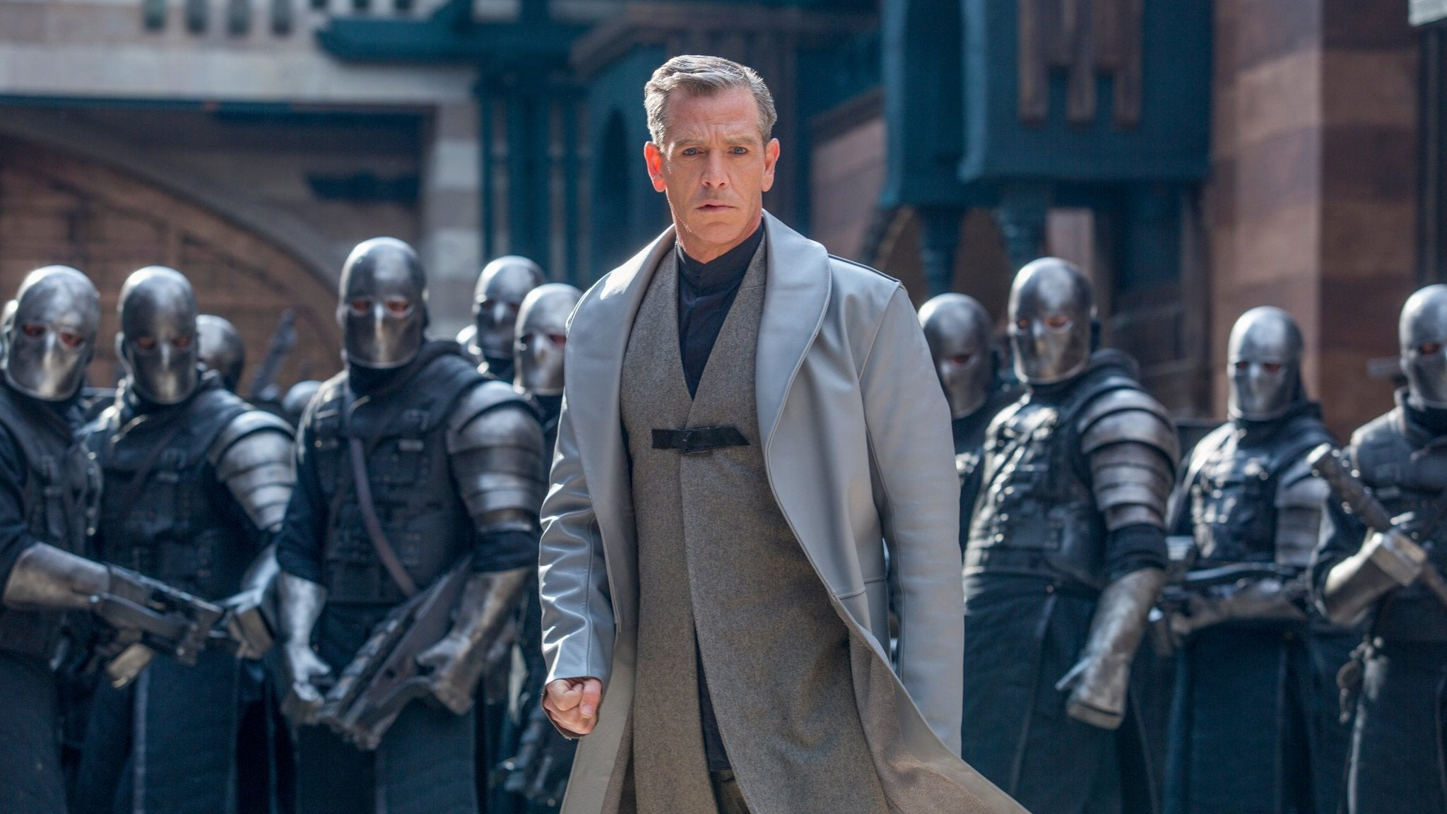 Looks Like Ben Mendelsohn Wandered Off The Rogue OneSet And Stumbled Onto The NewRobin Hood Movie