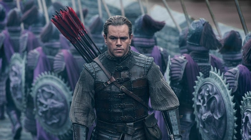 Matt Damon Vs Chinese Monsters MovieThe Great Wall Gets An Appropriately Epic New Trailer