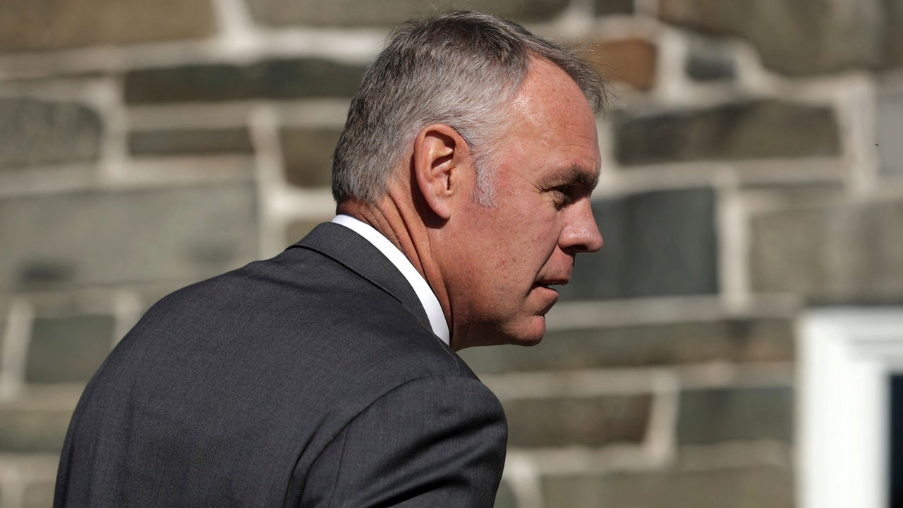 Ryan Zinke Says 'Radical Environmentalists' Are To Blame For The Wildfire That's Killed 79 People