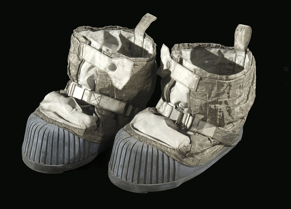 These Boots Took the Final Steps on the Moon