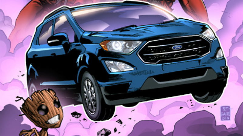 Somehow, The Official Vehicle Of Guardians Of The Galaxy Vol. 2Is A Ford, And Not A Spaceship
