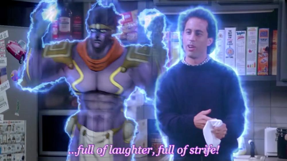 If Seinfeld Were JoJo's Bizarre Adventure