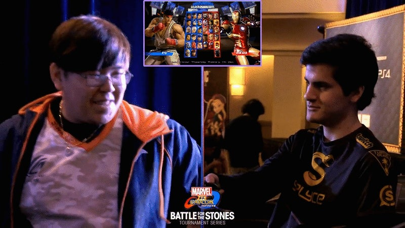Marvel Vs. Capcom Tournament With Special Rules Lets Pro Mess With Opponent's Controls
