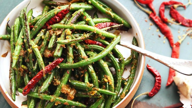 Make Delicious, Snappy Sichuan Green Beans Without a Wok