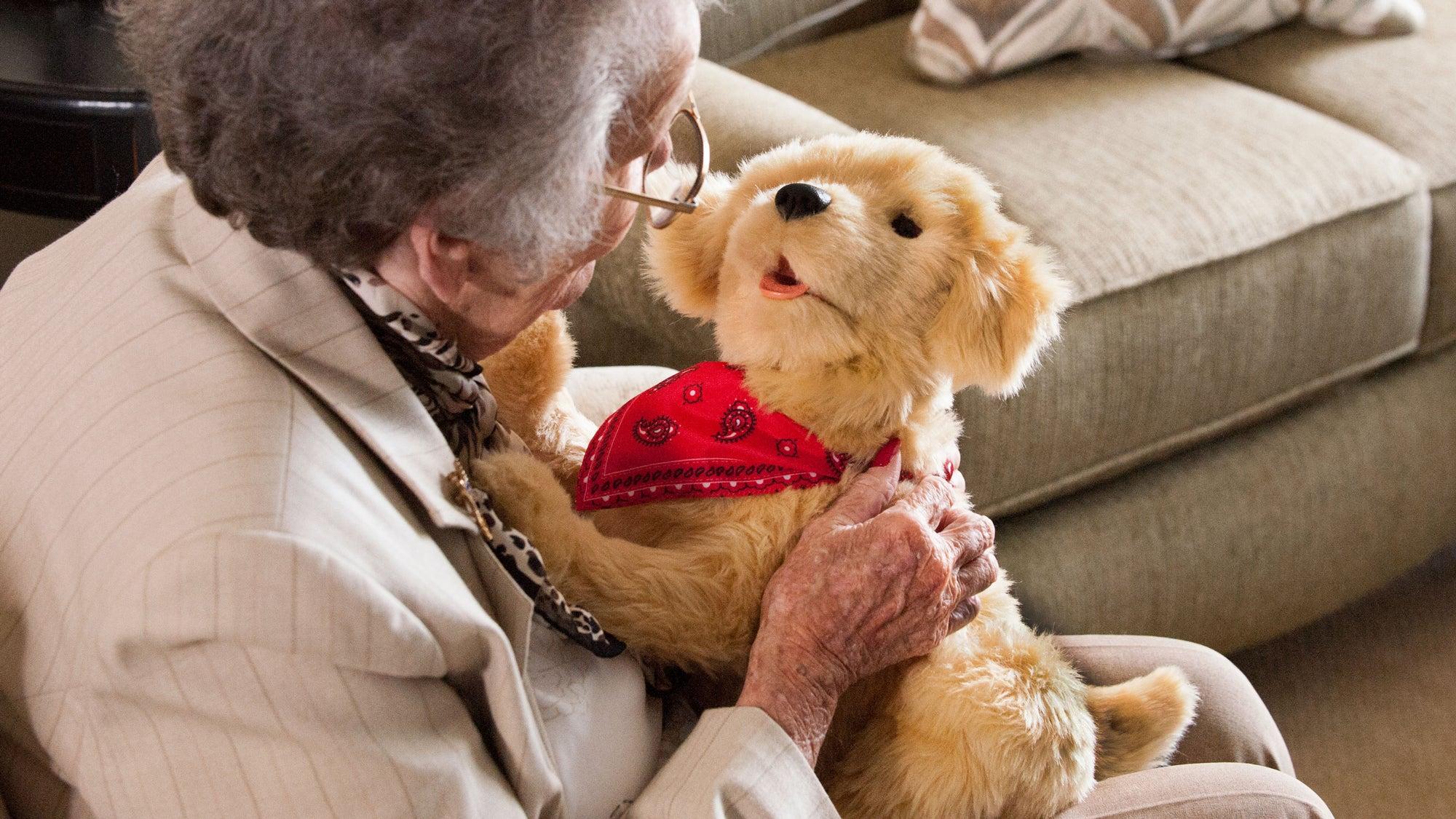 Your Lonely Grandparents Can Now Get A Robot Retriever To Keep Them Company