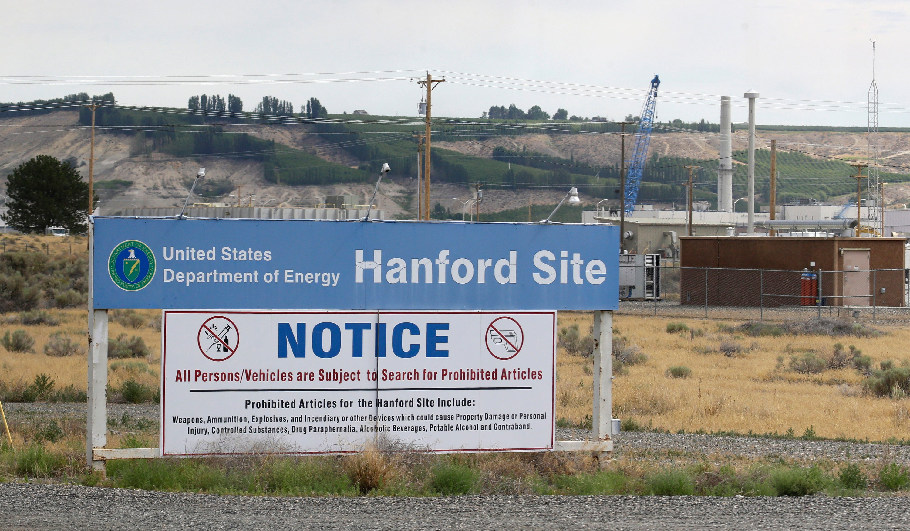 Workers Have Found A 'Significant' Nuclear Waste Leak At A Washington Storage Site
