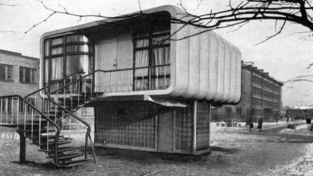 That Time Soviet Russia Built a House Entirely Out of Plastic