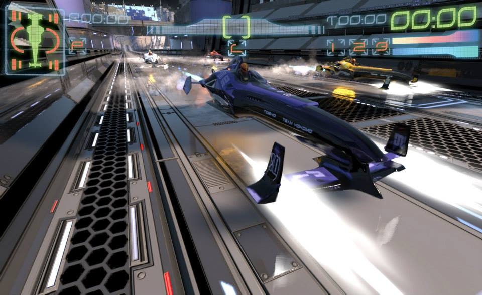 Old Xbox Games Racing Games : Phew ex wipeout devs new racing game looks just like