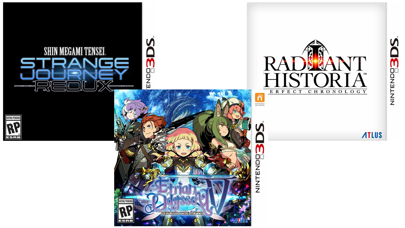 Atlus is bringing three great JRPGs to North America for the 3DS