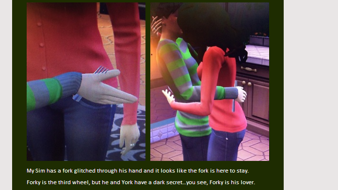 Sims 4 Fork Glitch Is Random As Hell