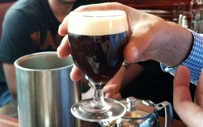 The Recipe For An Authentic Irish Coffee