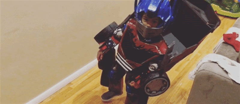 Kid's Transformers Costume Can Transform