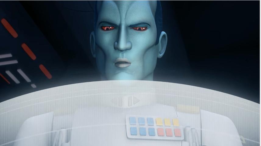 New Star Wars Rebels Footage Is Thrawnalicious