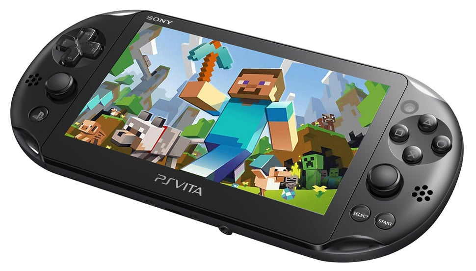 Minecraft on the PS Vita Seems Like... Well... Minecraft