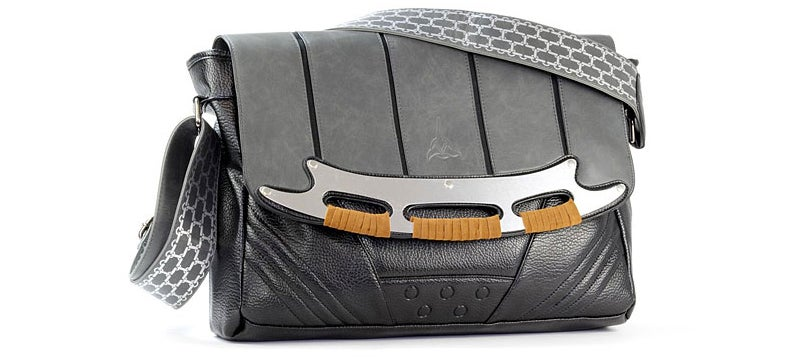 Carry Your Klingon Weapons (Or Laptop) In This Gorgeous Messenger Bag