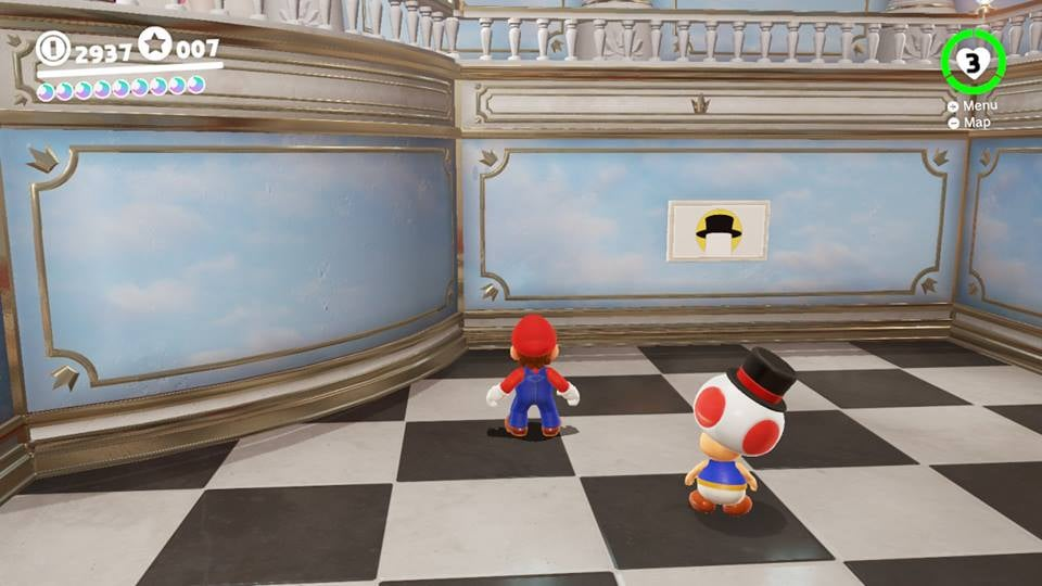 The Joy Of Super Mario Odyssey's Hint Art Challenges