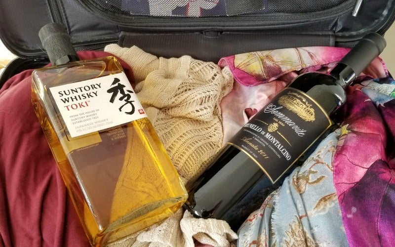 How To Smuggle Beer And Wine In Your Suitcase