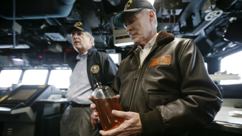 The US Navy Will Power An Entire Fleet With Biofuel Made From Beef Fat
