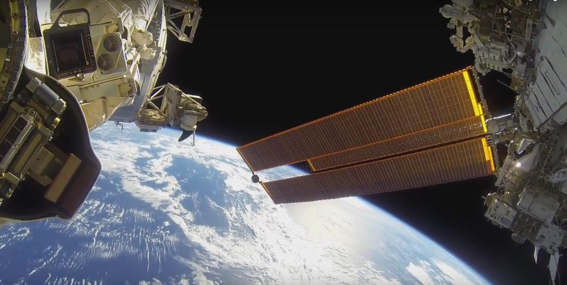 Spacewalk GoPro Footage Is The Best GoPro Footage