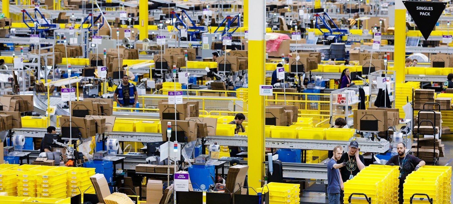 Report: Amazon Uses Games To Keep Warehouse Workers Engaged