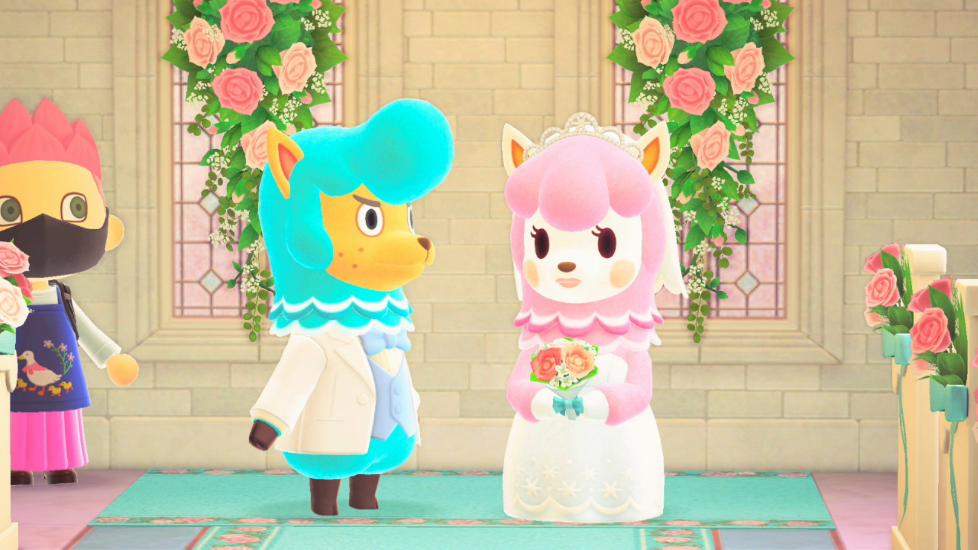 It's Wedding Season In Animal Crossing: New Horizons