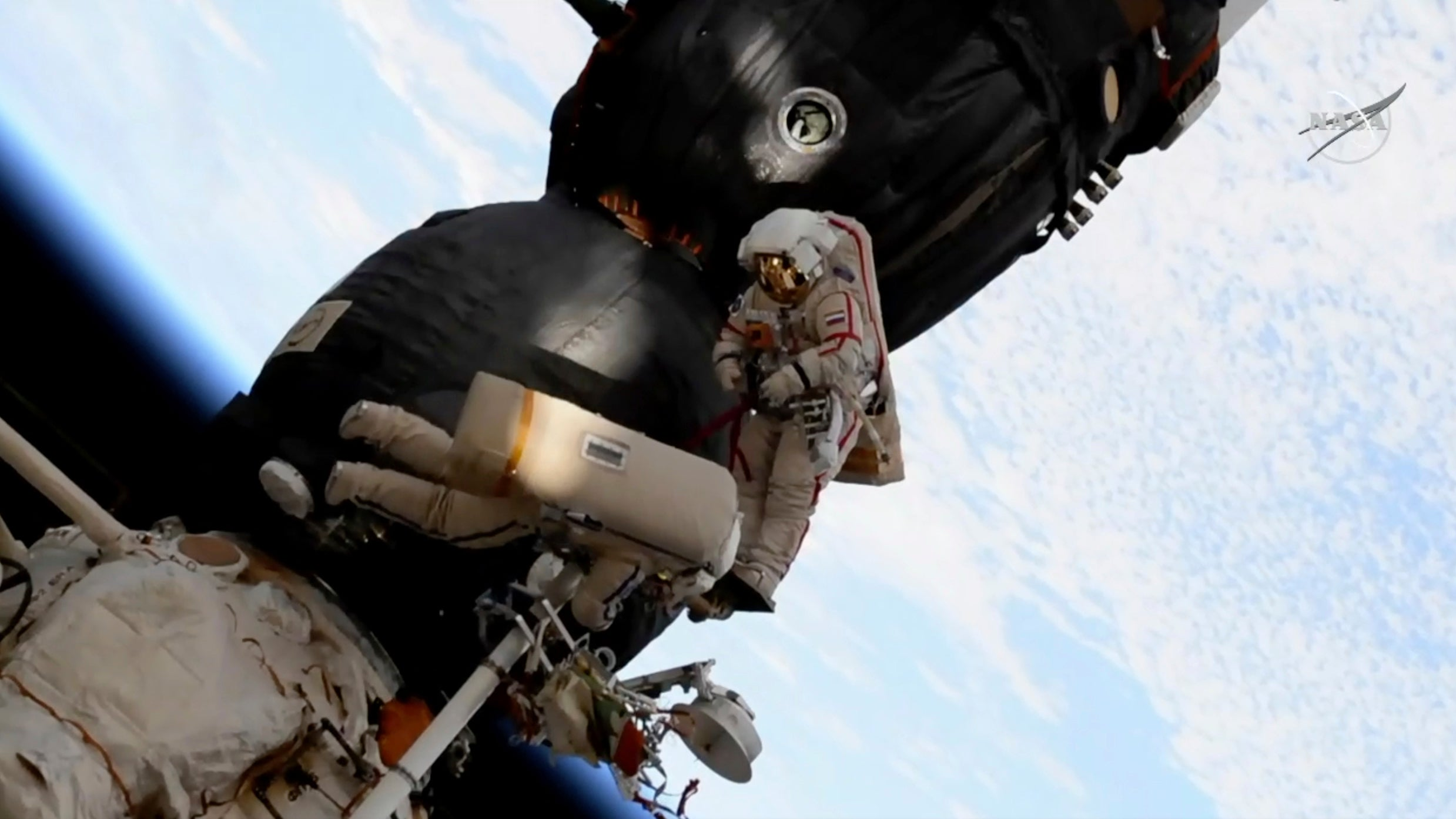 Report: ISS Hole Drilled From The Inside, Cosmonaut Says