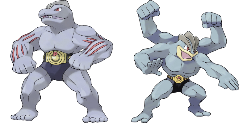 Machoke and Machamp Have a Deep, Dark Secret