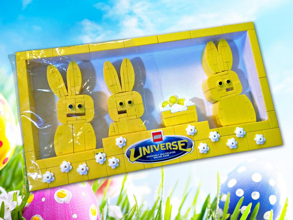An Easter Candy Feast Made Entirely Of LEGO
