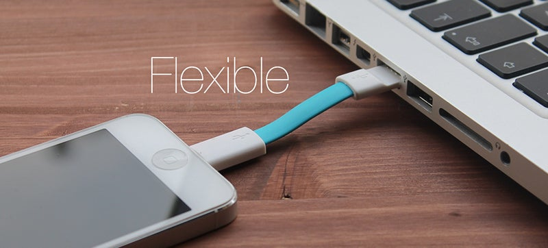 Smartphone Charging Cables Don't Get Much More Portable Than This