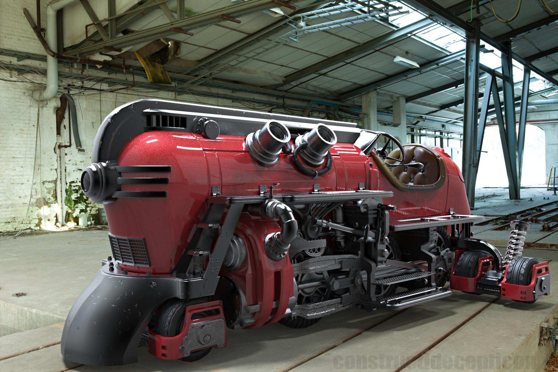 The Futuristic Steam Train of Our Dreams