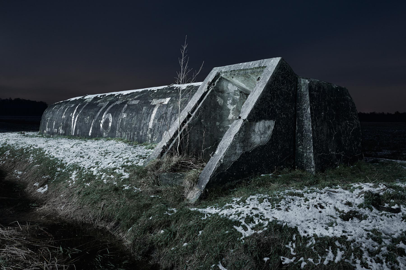 Abandoned World War II Bunkers Provide a Haunting Look Into the Past