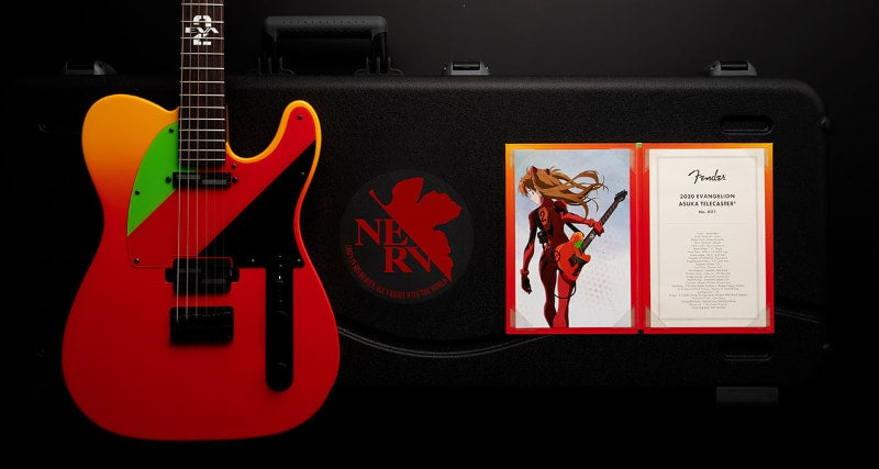Fender Is Making An Evangelion Themed Guitar