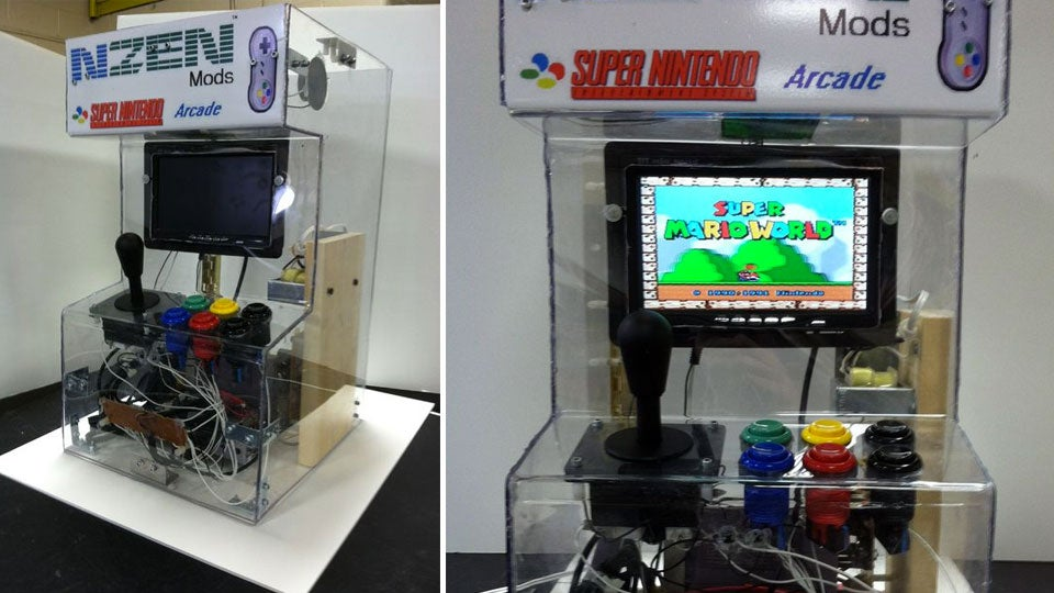 Turn a Super Nintendo into an Arcade Machine