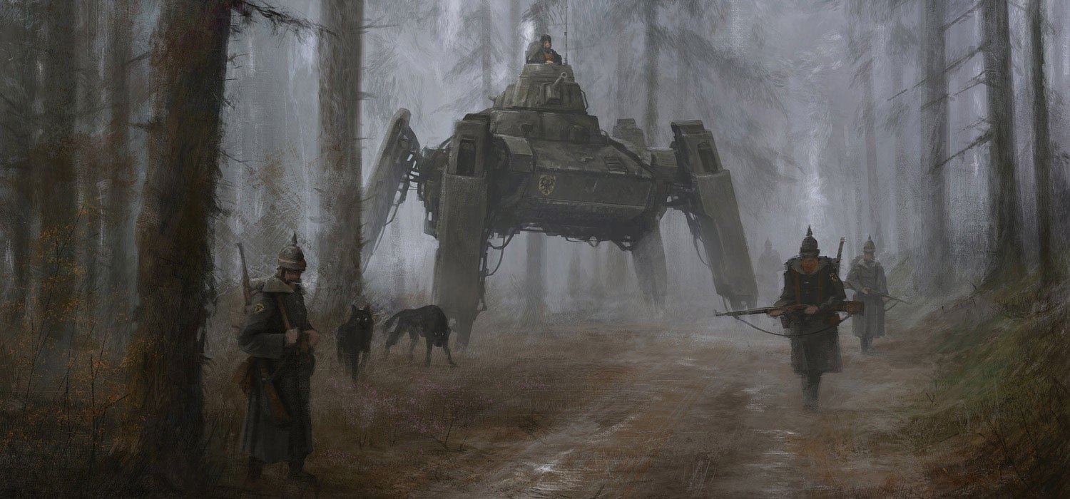 Mech Art That Inspired A Board Game Now Getting Two Video Games