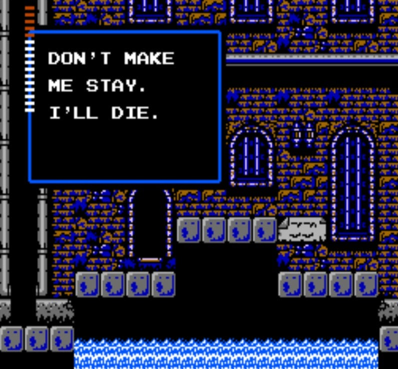 In Defence Of Castlevania 2: Simon's Quest   Kotaku Australia