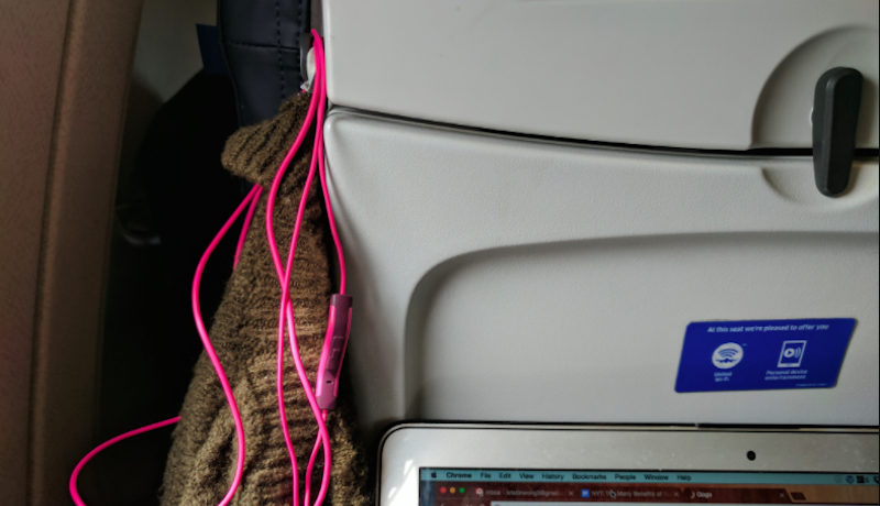 Here's What The Hook By Your Aeroplane Tray Table Is For