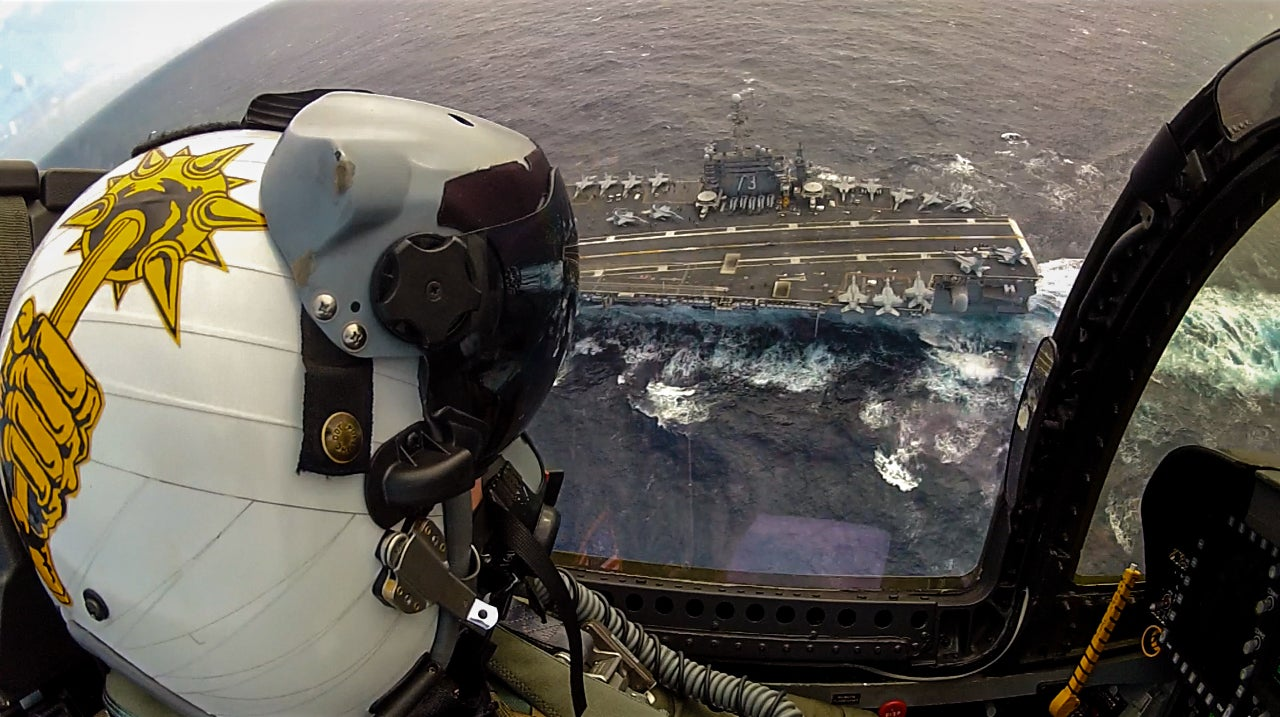 Spectacular live fire photos taken by an F-18 weapons trainer officer